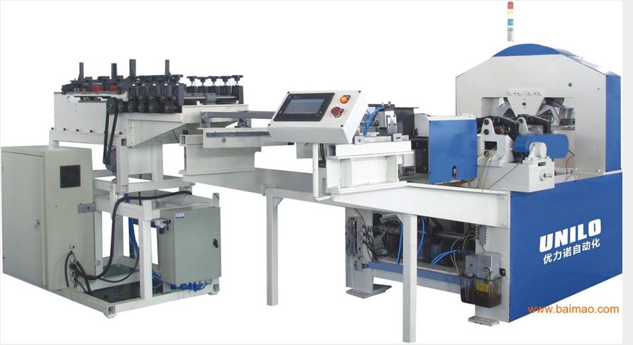 automatic lock seam tin can making production line Image