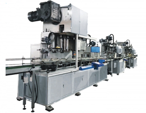 big square can body making line Image